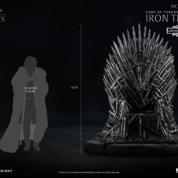 Beast Kingdom Reveals 1/6th Scale Game of Thrones Iron Throne