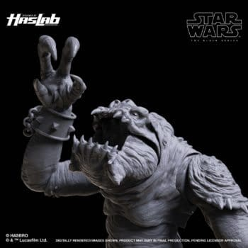 Hasbro Finally Reveals Star Wars: The Black Series Rancor HasLab