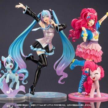 My Little Pony and Hatsune Miku Crossover Arrives with Kotobukiya