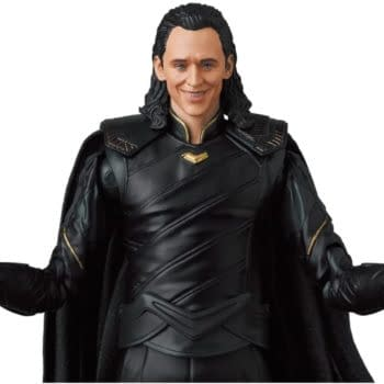 Loki Receives New Avengers: Infinity War MAFEX Marvel Figure