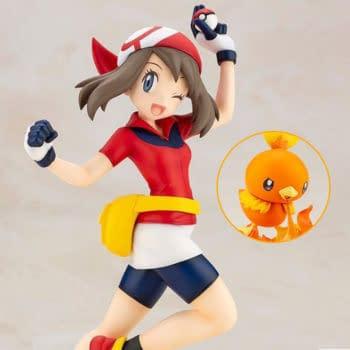 Pokemon Trainer May and Torchic Arrives with New Kotobukiya Statue