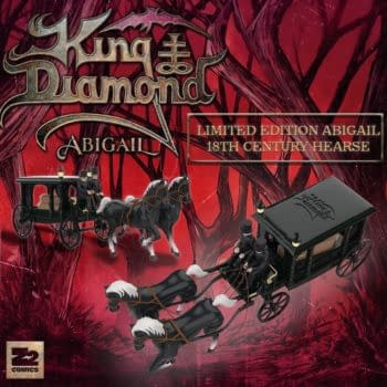 King Diamond's Abigail GN Gets Platinum Edition with Toy Hearse
