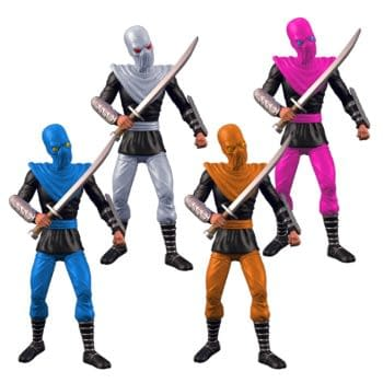 TMNT Colored Foot Soldier BST AXN 4-Pack Arrives from The Loyal Subject