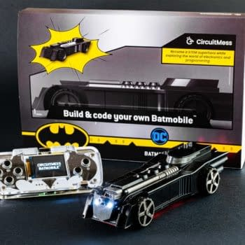 Warner Bros. Will Launch A Batmobile STEM Kit with Circuitmess