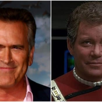 Bruce Campbell Wishes William Shatner Well on His Real Life Star Trek