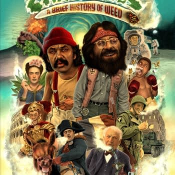 Cheech and Chong Chronicle the History of Weed at Z2 Comics