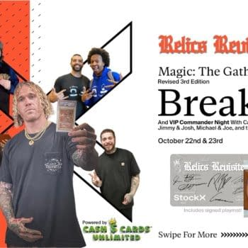 Interview: Cassius Marsh On A Magic: The Gathering Box Break Event