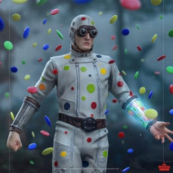The Suicide Squad The Polka-Dot Man Gets Awesome Iron Studios Statue