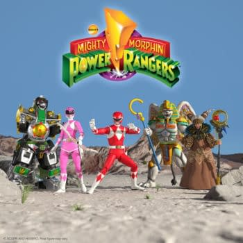 Mighty Morphin Power Rangers Ultimates Wave 2 Revealed By Super7