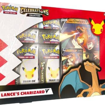 Pokémon TCG Celebrations Product Review: Lance's Charizard V Box