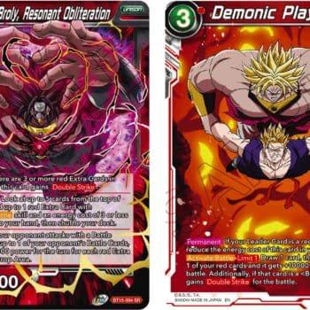 Dragon Ball Super Previews Saiyan Showdown: Dark Broly SR