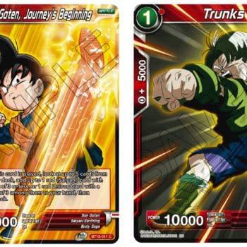 Dragon Ball Super Previews Saiyan Showdown: Goten & Trunks