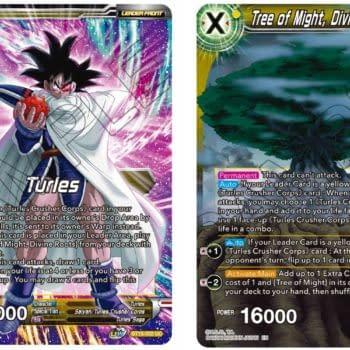 Dragon Ball Super Previews Saiyan Showdown: Turles & Tree of Might