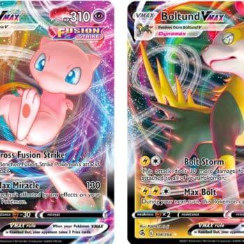 Pokémon TCG Previews English Mew VMAX for Fusion Strike