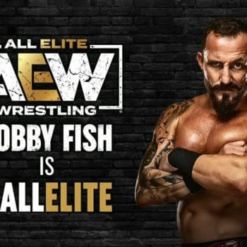 Bobby Fish Signs with AEW After TNT Championship Match on Dynamite