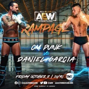 CM Punk to Wrestle Daniel Garcia on AEW Rampage This Friday