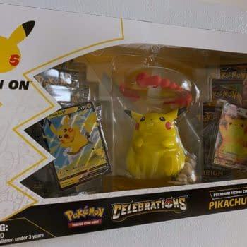 Pokémon TCG: Celebrations Early Opening: Pikachu Figure Collection