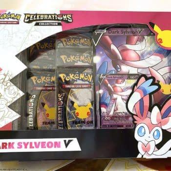 Pokémon TCG: Celebrations Early Opening: Dark Sylveon V Box