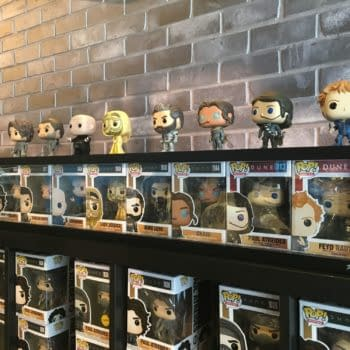 Funko Hollywood Dune Exclusives and Props