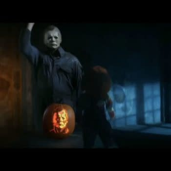 Chucky & Michael Myers Meet In Ad For Dool's New Series & His New Film