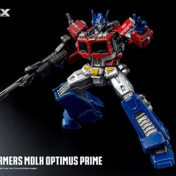 Transformers Optimus Prime MDLX Figure Debuts at Threezero