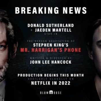 Mr. Harrigan's Phone Coming From Blumhouse & Ryan Murphy