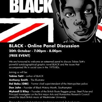 Tomorrow, London Cartoon Museum Launches Black: Story Of Tobias Taitt
