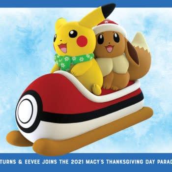 Pikachu & Eevee Do Macy's Day Parade For 25th Pokémon Anniversary