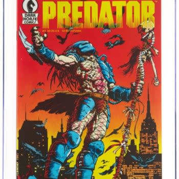 Predator Comics Debut Taking Bids At Heritage Auctions