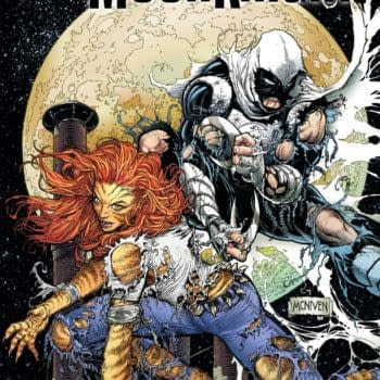 Cover image for MOON KNIGHT #4