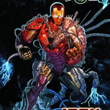 Cover image for DARKHOLD IRON MAN #1