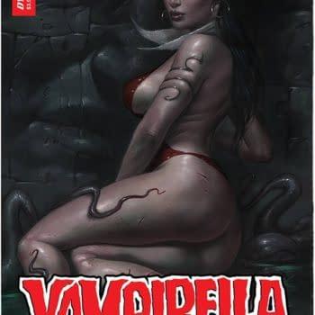 Vampirella #25 Tripled Numbers At FOC, Will Print 75,000