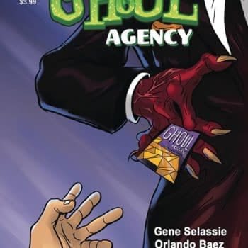 Cover image for GHOUL AGENCY #1 (MR)