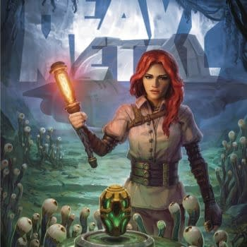 Cover image for HEAVY METAL #313 CVR A (MR)