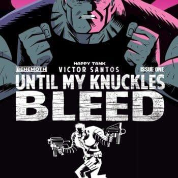 Cover image for UNTIL MY KNUCKLES BLEED #1 CVR B SANTOS (MR)