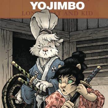 Cover image for USAGI YOJIMBO LONE GOAT & KID #1