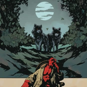 Cover image for HELLBOY SILVER LANTERN CLUB #4 (OF 5)