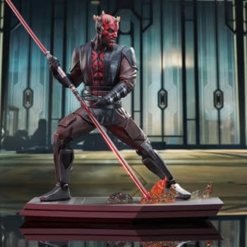 Darth Maul Enters the Battle of Mandalore with New Gentle Giant Statue