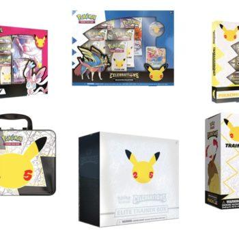 Pokémon TCG Releases Celebrations 25th Anniversary Set