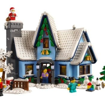 Christmas Comes Early as LEGO Unveils Santa's Visit Model Set