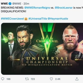 WWE Tweets and Deletes New Stipulation for Reigns vs. Lesnar