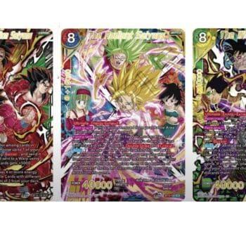 Dragon Ball Super Card Games Reveals Saiyan Showdown SCR Cards