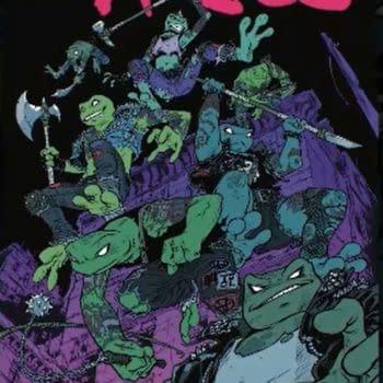 Teenage Mutant Ninja Turtle Becomes Teenage Mutant Punk Frogs In 2022