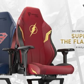 Secretlab Adds Superman & The Flash To DC Gaming Chair Collection