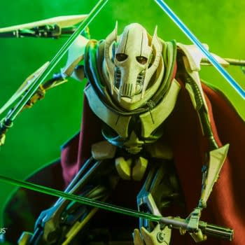 Star Wars General Grevious Prepares for War with Sideshow Collectibles