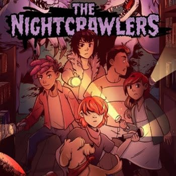 The Nightcrawlers: ABLAZE, Zoop to Crowdfund Kids Graphic Novel
