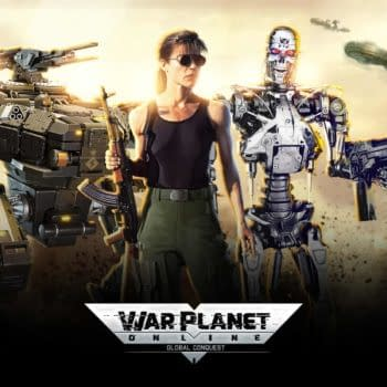War Planet Online Holds Crossover Event With Terminator 2