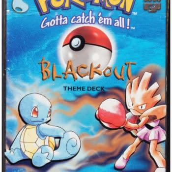 "Pokémon TCG Sealed ""Blackout"" Deck Up For Auction At Heritage"