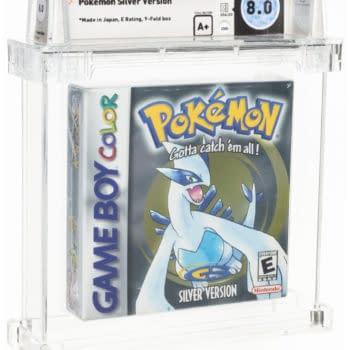 Pokémon Silver Version WATA 8.0 A+ Up For Auction At Heritage