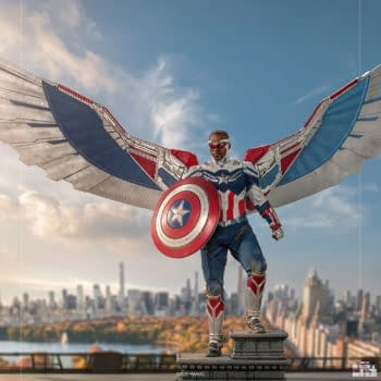 Captain America Sam Wilson Arrive with New Iron Studios 1:4 Statue